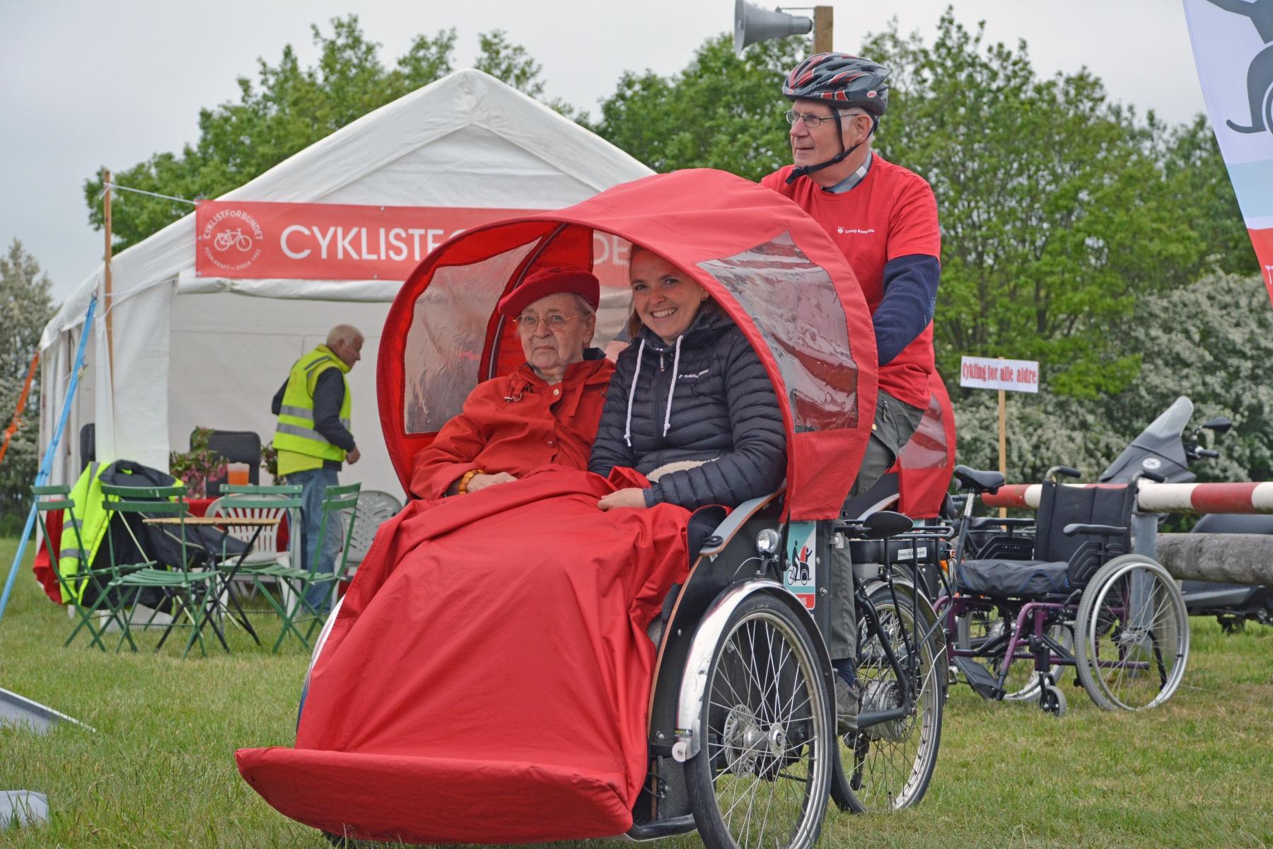 Gratis Rickshaw cykelture