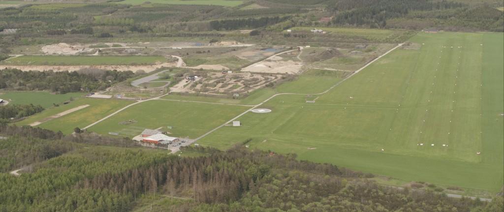 EKLV - Lemvig flyveplads, arealoversigt