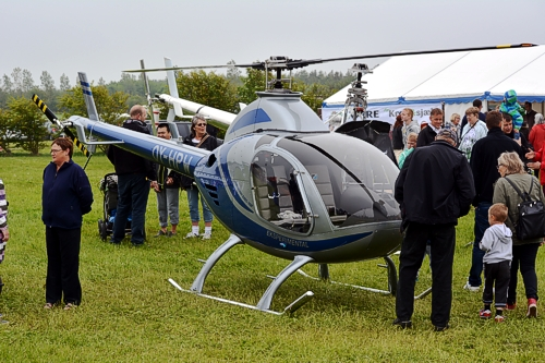 Egholms hjemmebyggede helikopter