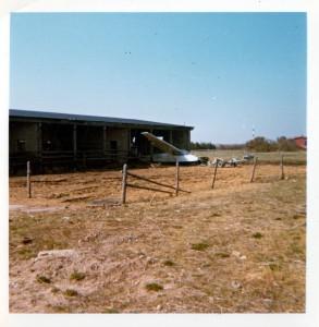 Lemvig svæveflyveklubs første hangar
