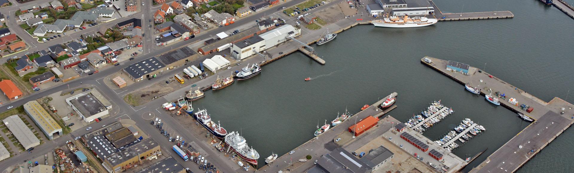 Luftfotos fra området