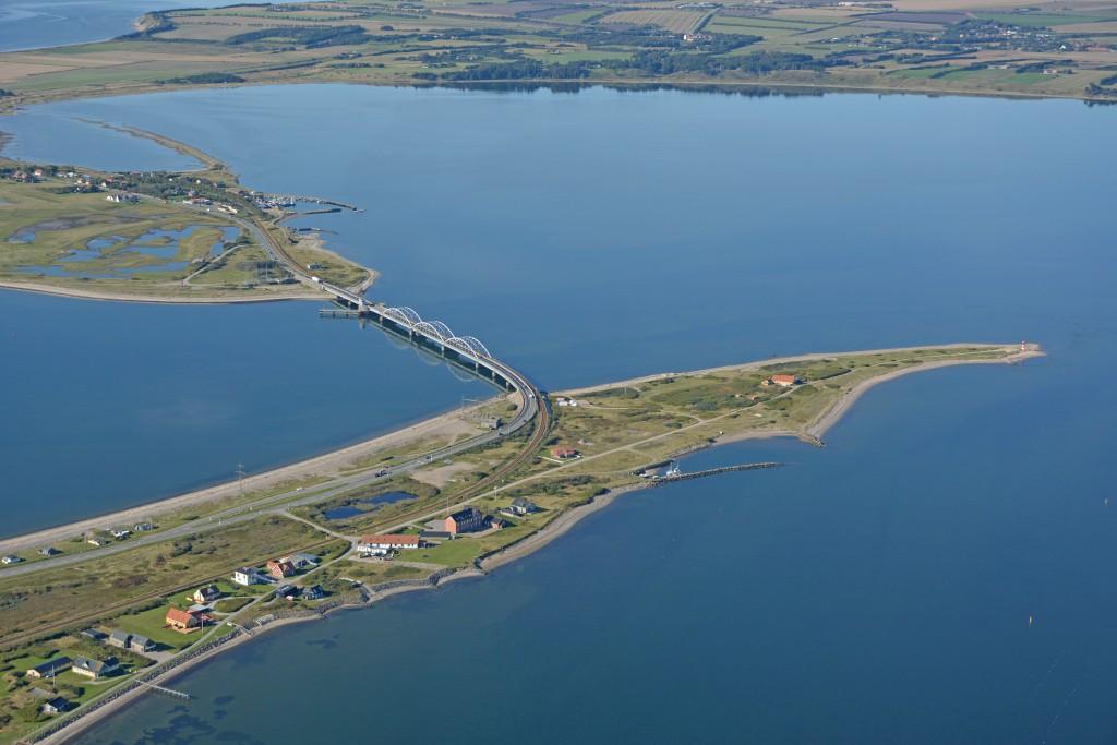 Luftfoto: Oddesund set fra sydøst 29.09.15